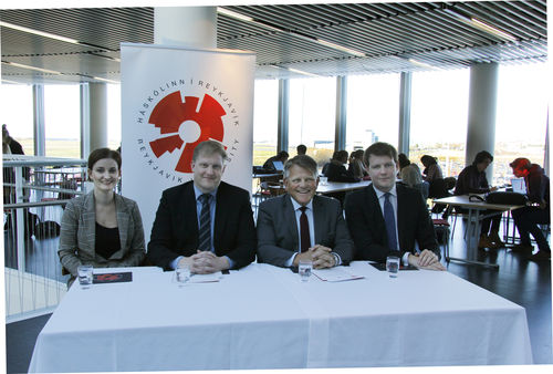 Undirritun samstarfssamnings milli HR og Icelandair Group