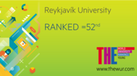 Young Universities Ranking - RU 52nd place